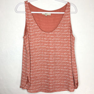 Ann Taylor Loft Sleeveless Tank Top Medium Pink